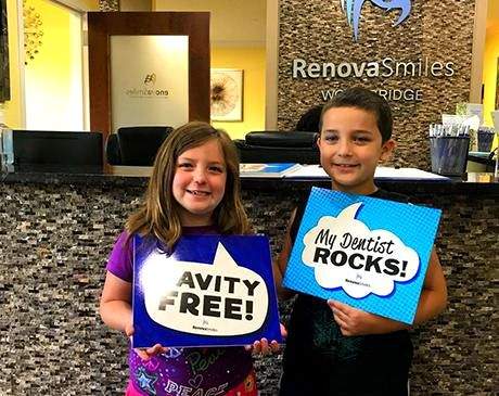 Brother and sister clients of RenovaSmiles